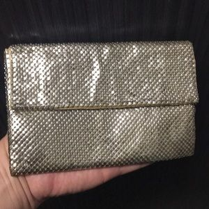 Mesh purse whiting and Davis ANTIQUE